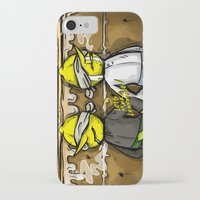 lemongrab iPhone & iPod Cases featuring Gingerbread Execution - Lemongrabs by BlacksSideshow