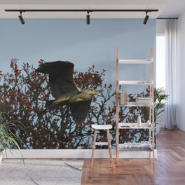 Heron Fly By Wall Mural