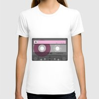 cassette T-shirts featuring Cassette by Sedef Uzer