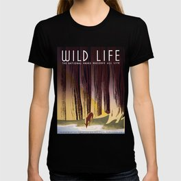 Wild Life - National Parks Preserve All Life T-shirt