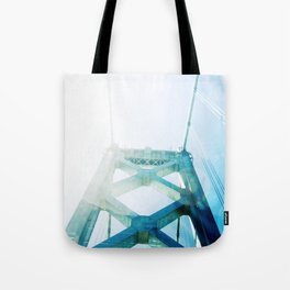 oakland bay bridge  Tote Bag