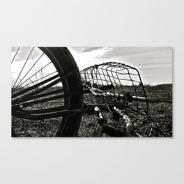 Praire Basket Canvas Print