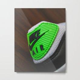 """Air Max 90 """"Lime"""" - Print 1 Metal Print"""