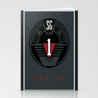 stargate Stationery Cards featuring Stargate SG1 by Winter Graphics