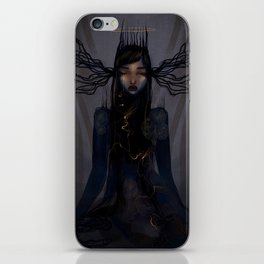 Light within the darkness iPhone Skin