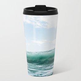 The Ocean Calms My Restless Soul Metal Travel Mug