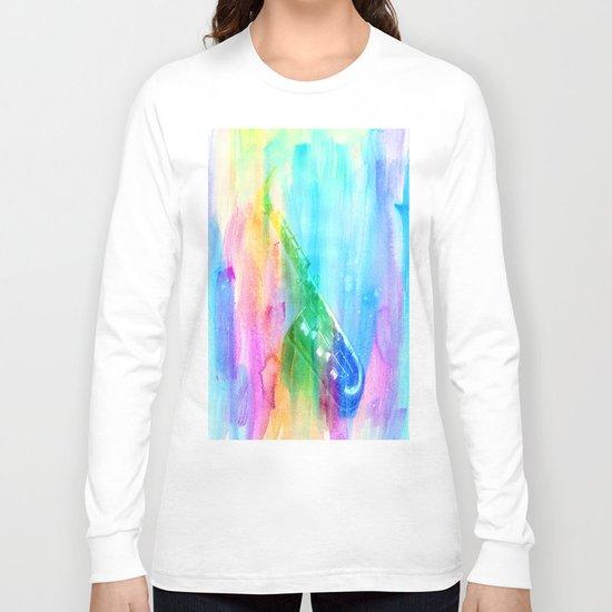 Sax Rainbow Long Sleeve T-shirt