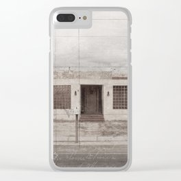 Condemned Clear iPhone Case
