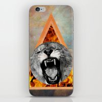 leon iPhone & iPod Skins featuring leon by blueart