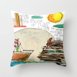 Book of Life Throw Pillow