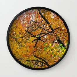 Autumnal Bliss Wall Clock