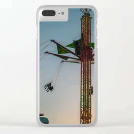 Fun at the Fair Clear iPhone Case