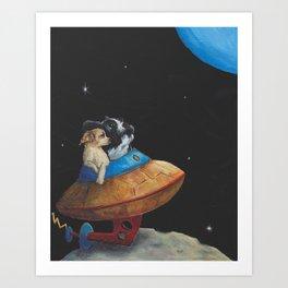 The Honeymooners Art Print