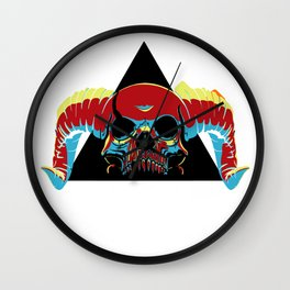 Illuminati Satan - Lucifer Wall Clock