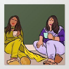 Chai Time Canvas Print
