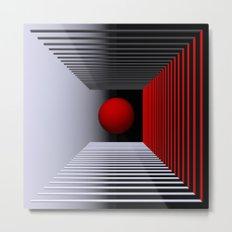 experiments on geometry -1- Metal Print