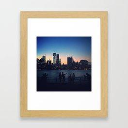 Brooklyn Bridge Park Framed Art Print