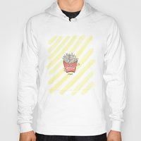 "french fries Hoodies featuring ""french"" fries by luoyunl"