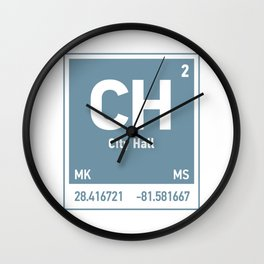 City Hall Element Wall Clock
