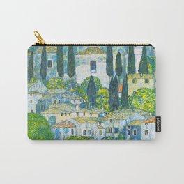 "Gustav Klimt ""Church in Cassone"" Carry-All Pouch"