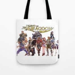 Legend of Dragoon Cast Tote Bag