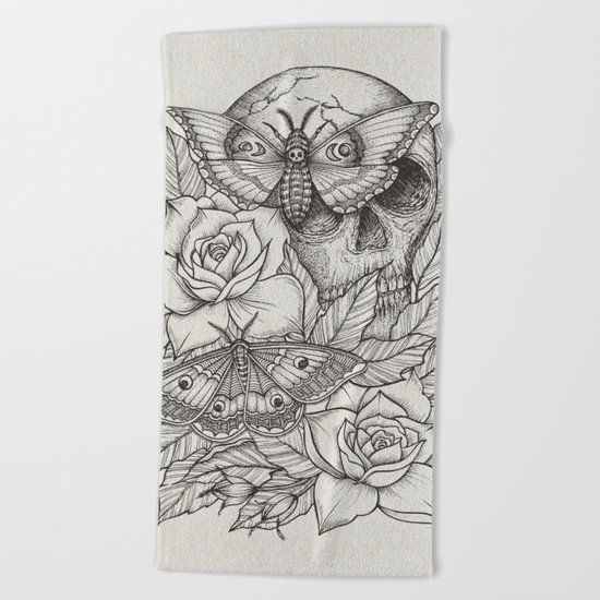 Acherontia Beach Towel
