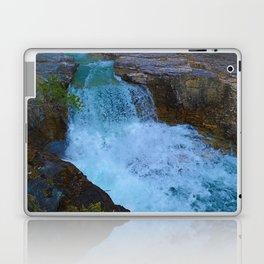Beauty Creek & Stanley Falls in Jasper National Park, Canada Laptop & iPad Skin