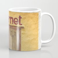 internet Mugs featuring Internet by Nina's clicks
