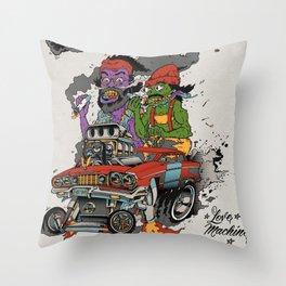 Cheech & Chong Love Machine Throw Pillow