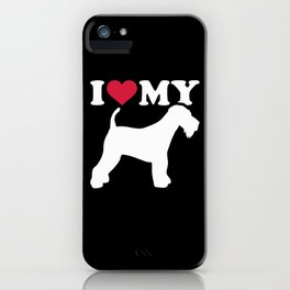 I love my Airedale Terrier iPhone Case