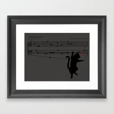 The Reddot Sonata Framed Art Print