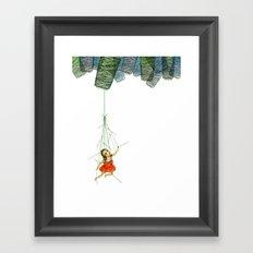 Marionette Girl Framed Art Print