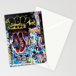 The Art of Spray Paint Stationery Cards