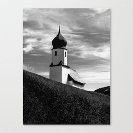 LIGHT AND SHADOW / Bregenz Forest, Austria Canvas Print