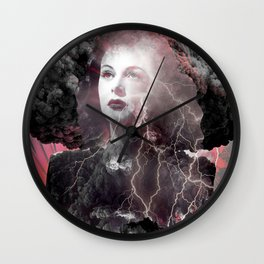Fireworks Of The Mind Wall Clock