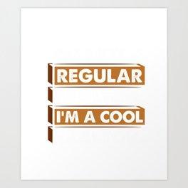 I'm Not A Regular Realtor I'm A Cool Realtor Hoodie Art Print