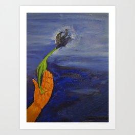 Let it Flourish Art Print
