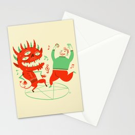 Naughty - Dance with your Demon Stationery Cards
