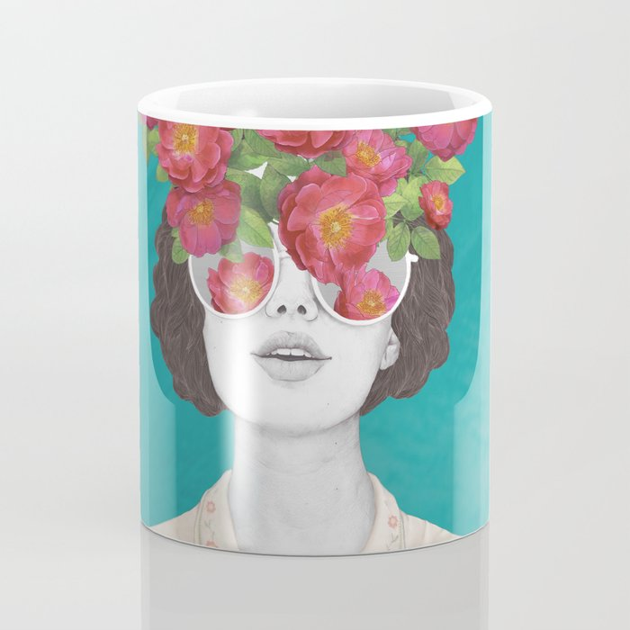 The optimist // rose tinted glasses Kaffeebecher