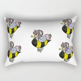 bee power Rectangular Pillow