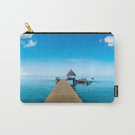 Tahiti Boat Dock Carry-All Pouch