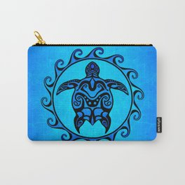 Tribal Turtle Sun Carry-All Pouch