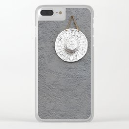 Grey Moments Clear iPhone Case