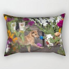 Friendship after death Rectangular Pillow