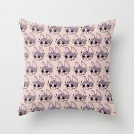 Batsy Print Throw Pillow