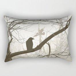 Natural crows Rectangular Pillow