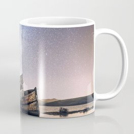 Shipwreck under the stars Coffee Mug
