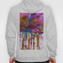 Song Of The Trees 9a by Kathy Morton Stanion Hoody