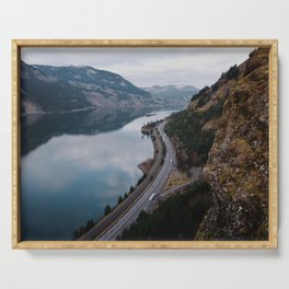 Columbia River Gorge III Serving Tray