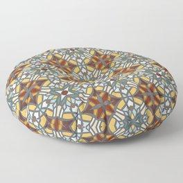 Abstract geometric retro seamless pattern Floor Pillow